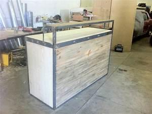 Fabriquer Un Bar : bar exterieur en bois ides ~ Carolinahurricanesstore.com Idées de Décoration