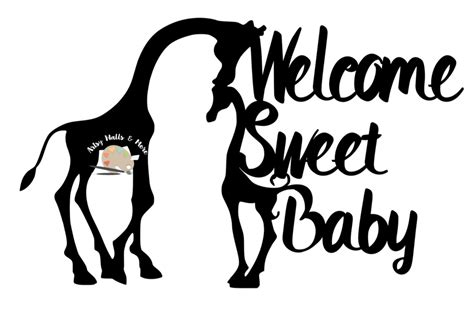 This product is compressed in a zipper folder that you must. Giraffe baby shower cake topper svg welcome baby svg file ...