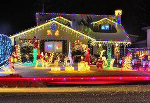 Christmas, In, Clarksville, Features, Interactive, Map, Of, Local, Lights