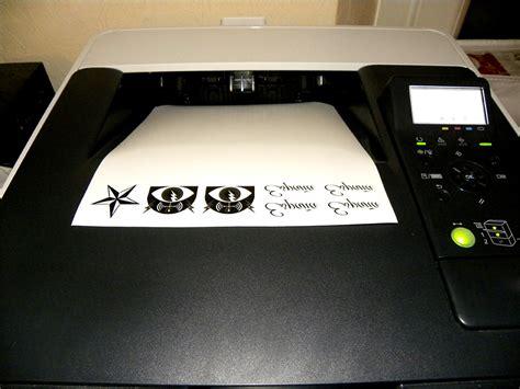 Papier Tatouage Temporaire Imprimante