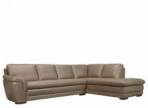 Garrison 2 pc leather sectional sofa sectional sofas for Garrison leather sectional sofa
