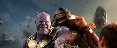 Thanos Iron Vs Infinity Tony War Stark