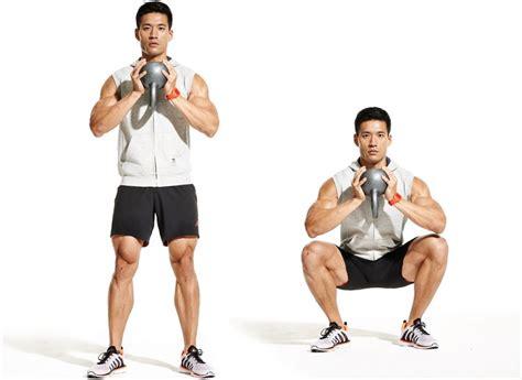 squat kettlebells front kettlebell