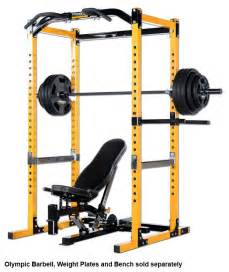 Weight Benches Ebay by Powertec Power Rack Wb Pr14 Squat Cage Bench Press Home