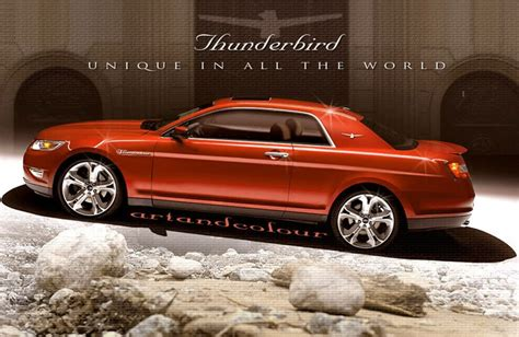 ford thunderbird  release date price design specs