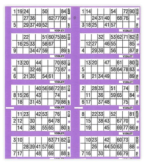 cowells arrow bingo bingo