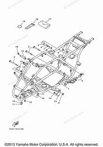 Yamaha Atv 2008 Oem Parts Diagram For Frame