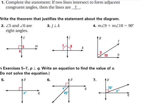 math worksheets pairs of angles them and try to