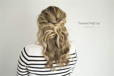 Twisted Half Up Tutorial