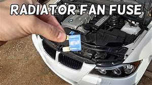 Radiator Fan Fuse Location And Replacement Bmw E90 E91 E92 E93
