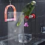 concrete bird bath    hands birdcage