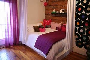 Girl39s Room With Exposed Brick Wall