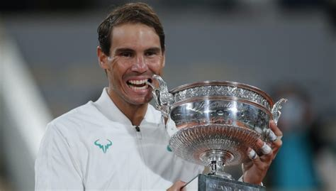 Rafael Nadal admits it is 'beautiful' to share Grand Slam ...