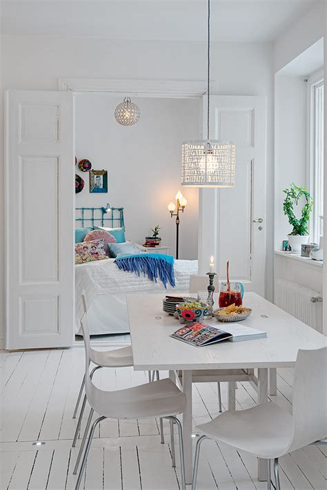 White Apartment by Swedish White Heirloom Apartment