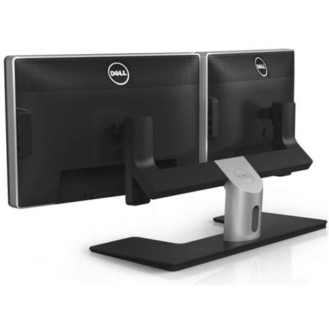 dual monitor stands for desktop dell mds14 dual lcd monitor stand vesa compatible hxdw0