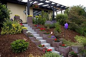 amenagement jardin en pente astuces pour apprivoiser le With jardin en pente amenagement