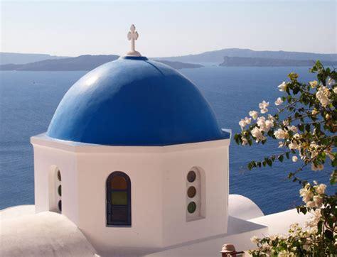 Church Dome-Santorini, Greece | Shutterbug
