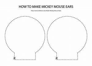 template for minnie mouse ears - free download for mickey mouse ears template party