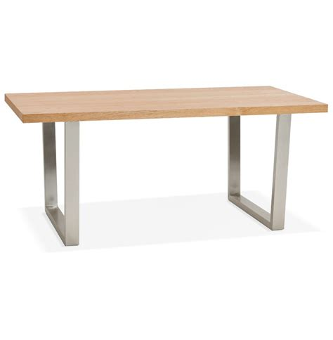 table bureau bois table design koala en bois bureau moderne 180x90 cm