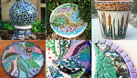 Diy Mosaic Art In The Garden