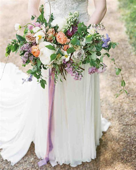 Purple Wedding Bouquets Martha Stewart Weddings