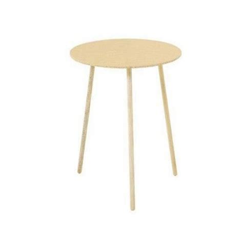 three legged wooden table small accent table round corner decorator coffee side end