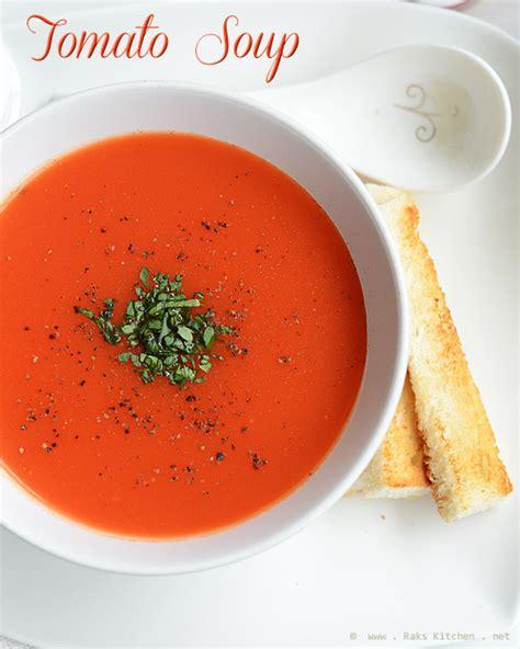 Cbell S Tomato Soup by Easy Tomato Soup Recipe How To Make Tomato Soup Raks
