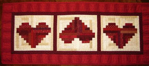 favorite quilting tips  recipes log cabin heart quilt