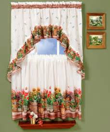 country kitchen curtains with various styles
