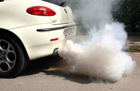 Different Types Of Smoke From The Exhaust System & Their