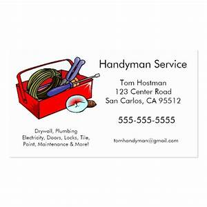 Handyman business cards for Handyman business card templates