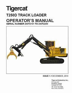 Download Tigercat T250d Track Loader Operators Pdf