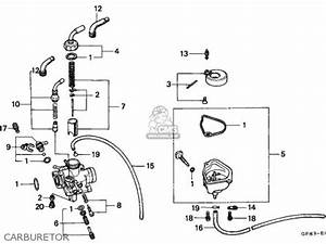 Honda Qr50 1983  D  Canada Parts Lists And Schematics