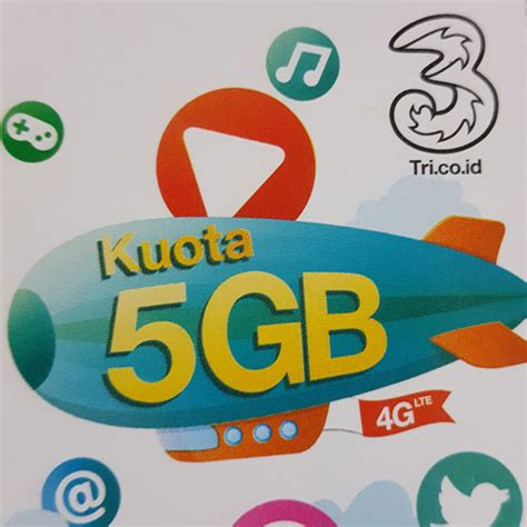 terbaru voucher 3 tri kuota 4g 5gb harga super murah id files