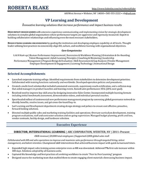 Hr Executive Experience Resume by R 233 Sum 233 Sles Falter
