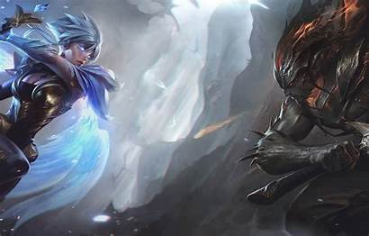 Yasuo Riven Lol League Legends Nightbringer Sword