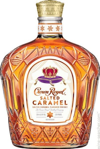 crown royal salted caramel flavored canadian whisky