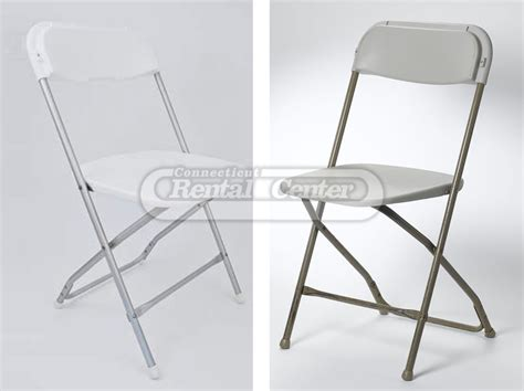 rent fiberglass folding chair from ct rental center