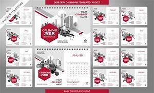 Tischkalender 3 Monate : tischkalender 2018 vorlage 12 monate inklusive a5 ~ Watch28wear.com Haus und Dekorationen