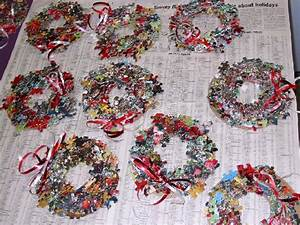 Puzzle Wreath for Christmas