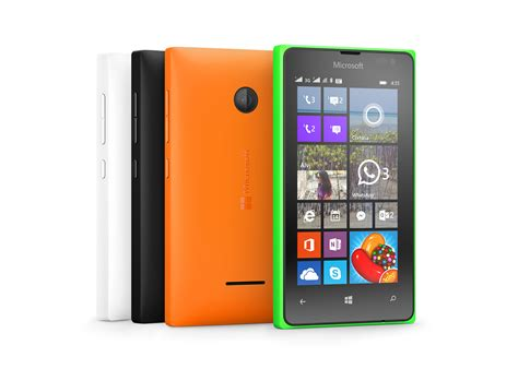 cheapest smartphones microsoft launched two new cheap smartphones