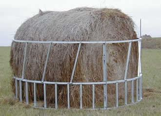 hay ring feeder aluminum bale hay ring feeder