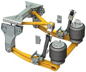 kenworth air suspension  heavy  severe duty