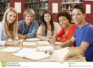 College Students Working Together Royalty-Free Stock Image ...