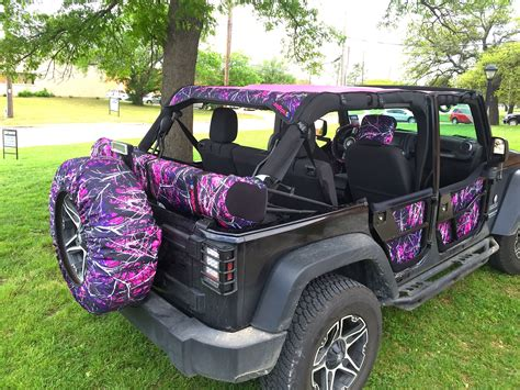 girls jeep wrangler jeeptopsusa full line of muddy accessories for the
