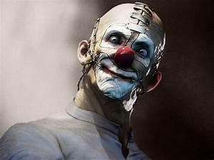 Dark horror evil clown art artwork f wallpaper | 1920x1440 ...