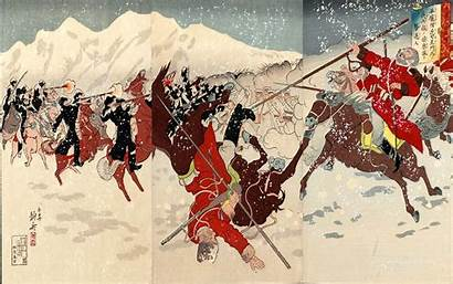 Japanese Wallpapers Paintings Painting War Imperial Traditional