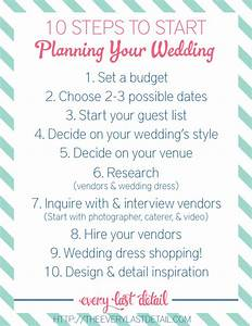 newly engaged 10 steps to start planning a wedding With how to plan a honeymoon