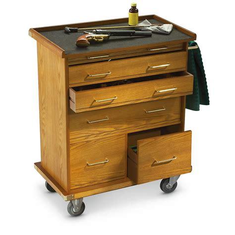 rolling storage cabinet castlecreek wood rolling storage cabinet 192826 coins