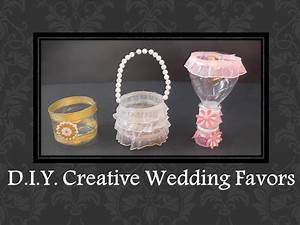diy easy creative wedding favors ideas youtube With how to make wedding favors yourself